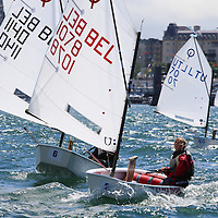 Optimist Europeans 2014 at Royal St. George YC