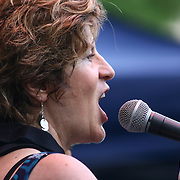 Jazz musician, composer Lynn Riley performs in front of a large crowd at the 26th annual duPont Clifford Brown Jazz Festival Thursday, June 19, 2014, at Rodney Square Park in Wilmington, DEL.    <br /> <br /> &ldquo;The Clifford Brown Jazz Festival is a staple of Wilmington&rsquo;s performing arts culture,&rdquo; said Mayor Dennis P. Williams. &ldquo;The City is excited to celebrate the 26th anniversary and I hope the community gets involved and enjoys all of the many activities the festival has to offer.&rdquo;<br /> <br /> The Clifford Brown Jazz festival is the largest FREE out door music event on the east coast of the United States.
