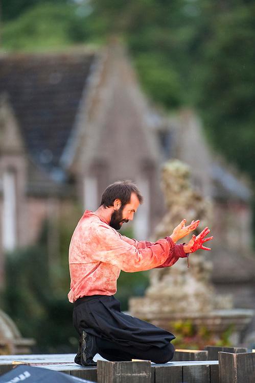 Performance of Macbeth, Glamis, August, 2012
