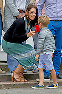 15-7-2016 GRASTEN Denmark Princess Mary with Vincent and Prince Christian and Princess Isabella and Prince Frederik and Princess Josephine and Queen Margrethe and Prince Henrik and Princess Alexandra and Count Jefferson von Pfeil und Klein-Ellguth and son Count Friedrich Richard Oscar Jefferson von Pfeil und Klein-Ellguth and daughter Lady Ingrid Alexandra Irma Astrid Benedikte von Pfeil und Klein-Ellguth pose for the media at the Palace Grasten in Graasten, Danmark, 15 July 2016. COPYRIGHT ROBIN UTRECHT<br /> 15-7-2016 - Grasten - Denemarken Prinses Mary met Vincent en prins Christian en prinses Isabella en prins Frederik en prinses Josephine en koningin Margrethe en prins Henrik en prinses Alexandra en graaf Jefferson von Pfeil und Klein-Ellguth en zoon Graaf Friedrich Richard Oscar Jefferson von Pfeil und Klein-Ellguth en dochter Lady Ingrid Alexandra Irma Astrid Benedikte von Pfeil und Klein-Ellguth poseren voor de media in het Paleis Grasten in Graasten, Denemarken, 15 juli 2016. COPYRIGHT ROBIN UTRECHT