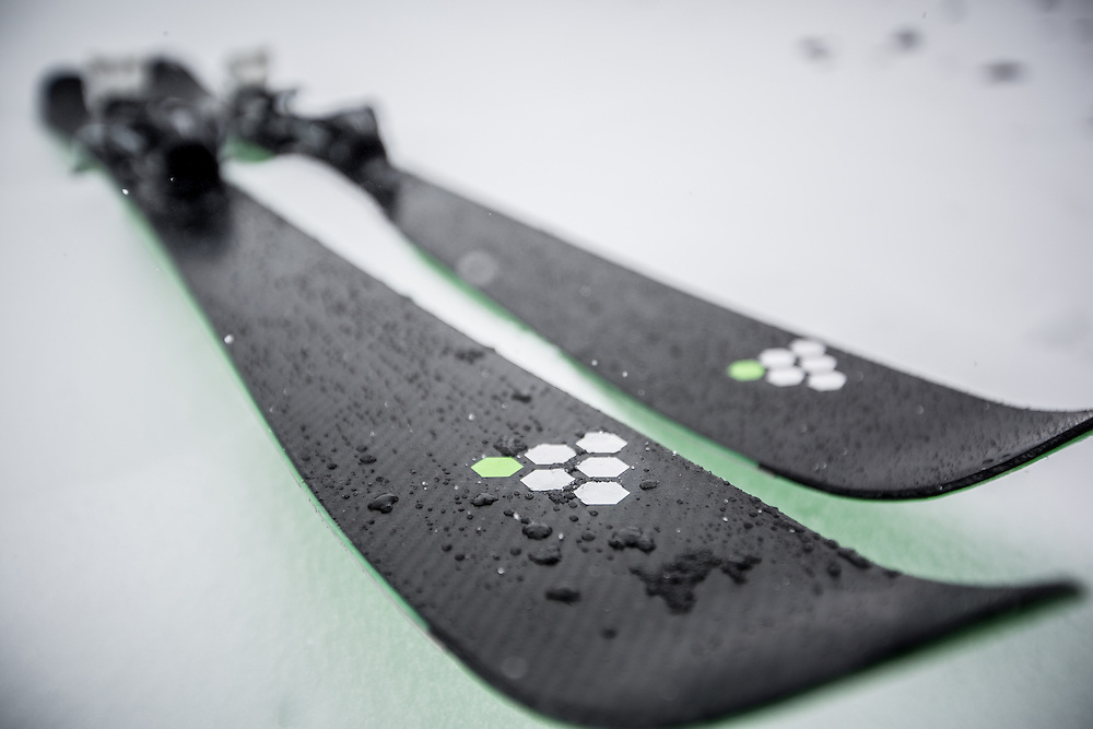 C6 Skis. September 2014. <br /> Copyright: Gareth Cooke/Subzero Images