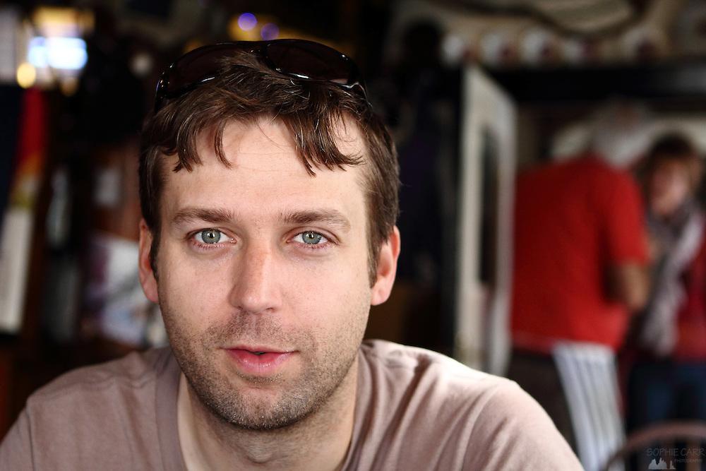 Portrait of Murray, my husband