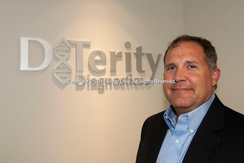 Bob Terbrueggen, founder and CEO of DxTerity.<br /> (Photo by Ringo Chiu/PHOTOFORMULA.com)