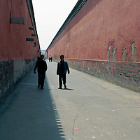 Asia, China, Beijing. Inside the Forbidden City walls.