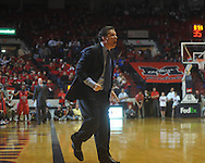 "Kentucky Head Coach John Calipari at the C.M. ""Tad"" Smith Coliseum in Oxford, Miss. on Tuesday, February 1, 2011. Ole Miss won 71-69."