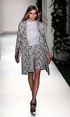 SEP 15 2013 Mulberry show at London Fashion Week Spring-Summer 2014