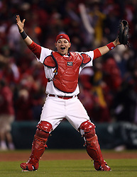 Yadier Molina and the St. Louis Cardinals win, 2006