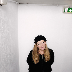 Fish Tank director Andrea Arnold at the Cannes Film Festival (Terrasse Un Certain Regard). France. 14 May 2009. Photo: Antoine Doyen