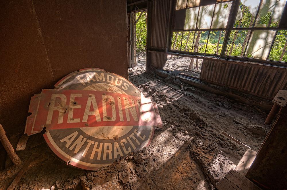 The Abandoned St. Nicholas Coal Breaker in Mahanoy PA.