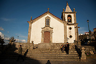 Linhares da Beira Church, in Guarda, Portugal.