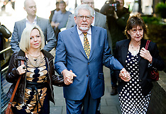 MAY 14  2014 Rolf Harris arrives at Southwark Crown Court
