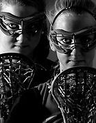 Dulaney High School lacrosse twins Kristen and Kate Horsman.
