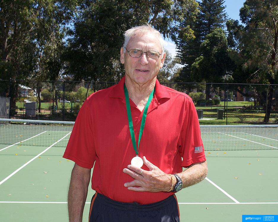 Singles during the 2009 ITF Super-Seniors World Team and Individual Championships at Perth, Western Australia, between 2-15th November, 2009.