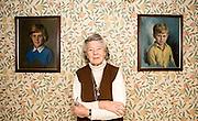 Rosamunde Pilcher at her home in Longforgan near Dundee  Scotland 17-01-08