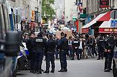 "Police Protest ""Anti-Hatred"" in Paris"
