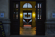 Belgrade railway station.<br /> <br /> Savamala neighborhood of Belgrade, Serbia.