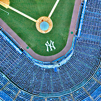 Aerial Photograph of Yankee Stadium, Bronx, New York Aerial views of artistic patterns in the earth.