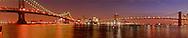 Brooklyn, Brooklyn Bridge and Manhattan Bridge, New York City, New York, USA