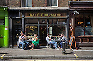 soho london england uk street area