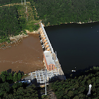 High Rock  dam on the Yadkin River, Hydro Power generating (Progress Energy)