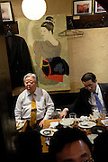 In an izakaya (Japanese informal restaurant) in Nagoya city