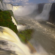Mighty Igwacu Falls (Foz Igwacu) in Brazil.