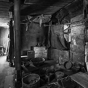 Interior of Scott's Discovery Hut, Antarctica