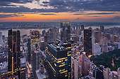 150 West 56th Penthouse: Night Views