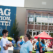 Orientation kicks off the school year for Gonzaga University.  <br />