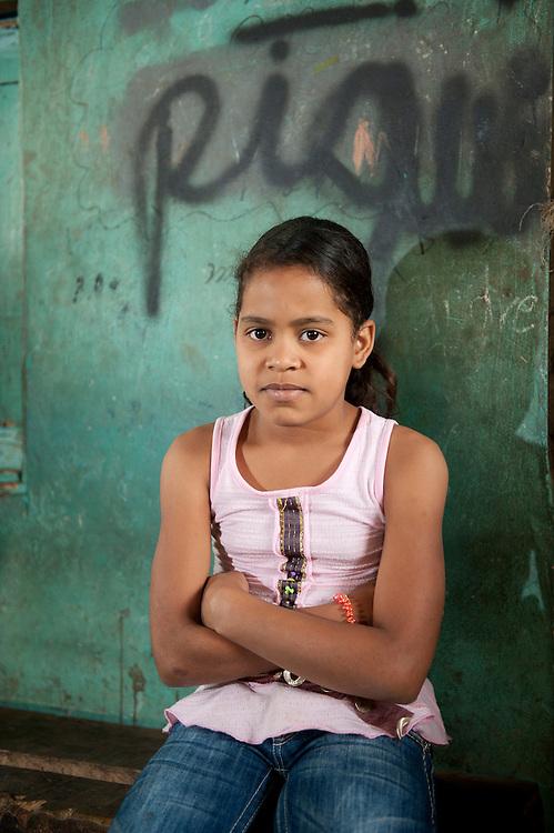 People at road stall,La Vega,La Vega, Dominican Republic, Caribbean
