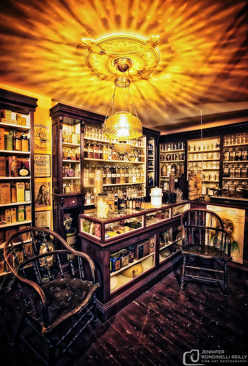 Apothecary on the Streets of Old Milwaukee.