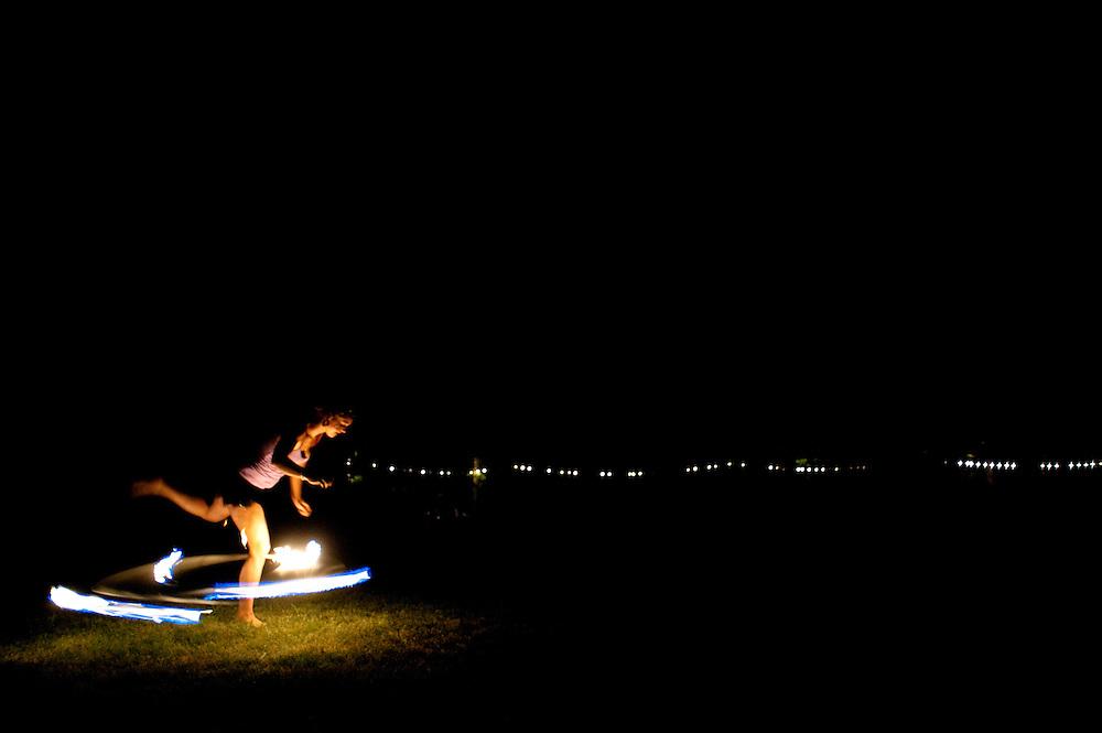 Firedancer (the running man?)