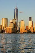 Freedon Tower, 1 WTC, the tallest skyscraper in the Western Hemisphere, designed by David Childs, New York City Skyline, Manhattan, New York