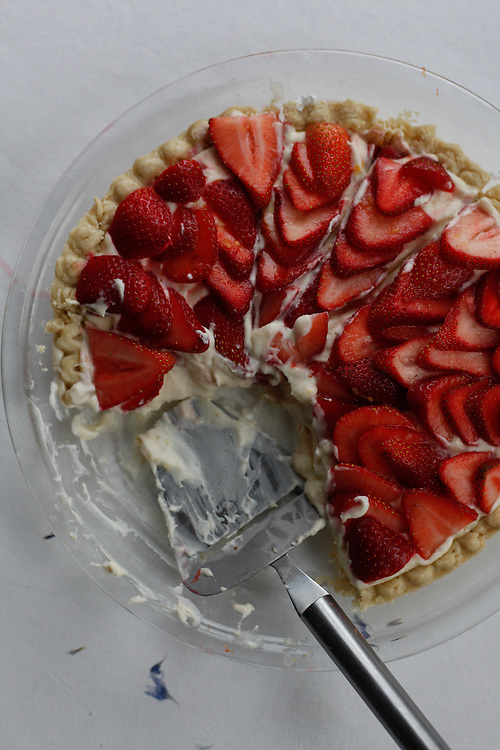 Earlybird Strawberry Cream Pie