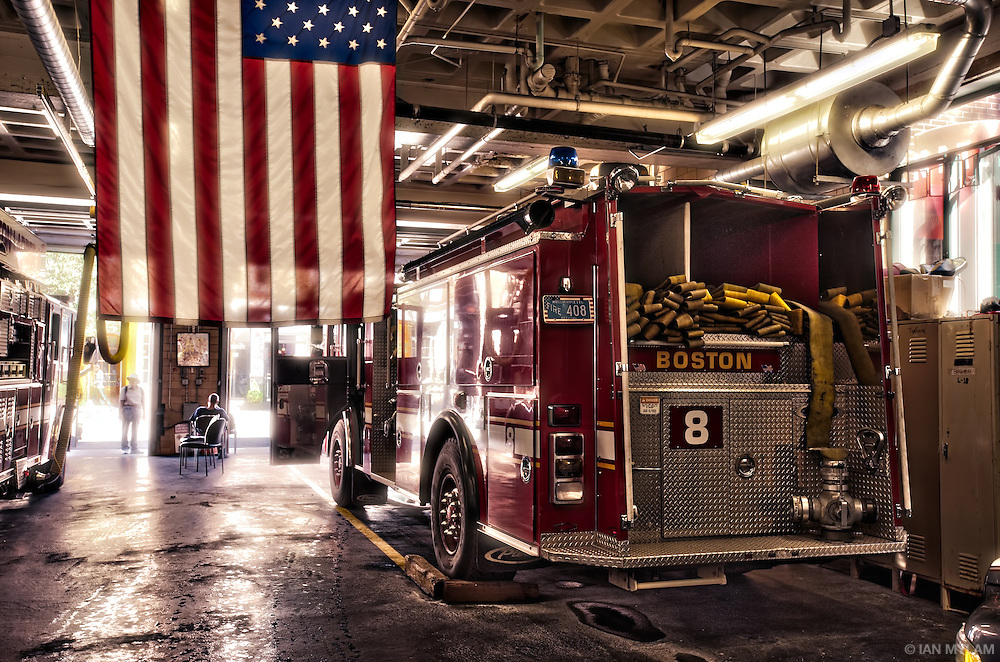 Fire Station - Boston, Massachusetts, U.S.A.