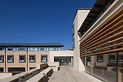 The Harold H W Lee Building. Pembroke College, New Build on completion March 2013. Oxford, UK