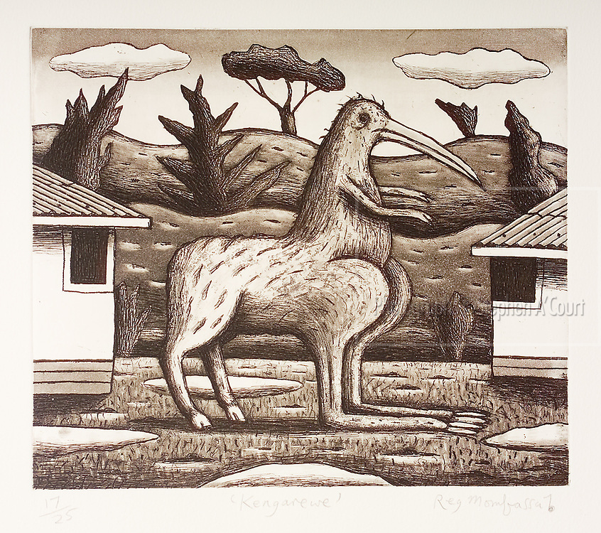 The work of Bowen Galleries' represented artist Chris O'Doherty (aka Reg Mombassa).