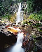 AA02164-01...MONTANA - Virginia Creek Falls in Glacier National Park.