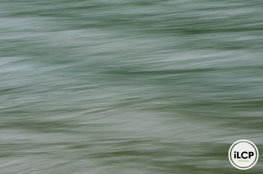 Blue-green water, Harrison Lake.