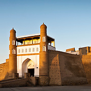 Bukhara. The Ark door