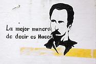 Revolutionary sign in Camaguey, Cuba.