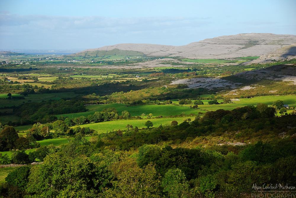 """The Burren or Boireann, meaning """"great rock"""" is a barren rocky landscape in county Clare, Ireland."""