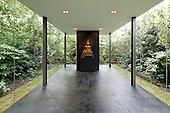 Glass Walled Meditation Space: 53 Ararat Road