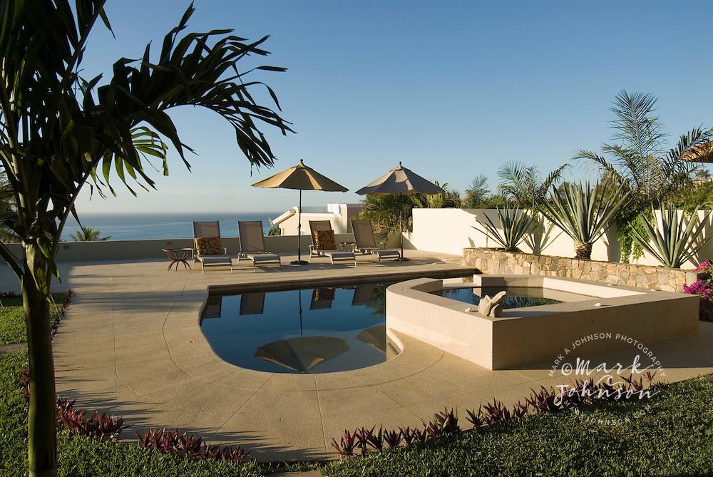 Swimming Pool In Backyard San Jose Del Cabo Baja California Sur Mexico Mark A Johnson Award