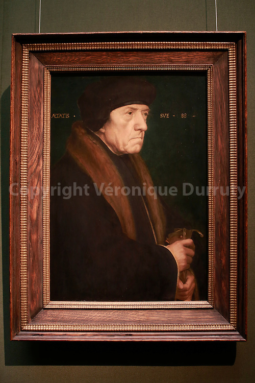 Paintings gallerie, Kunsthistorisches Museum, Vienna, Austria ; Hans Holbein, Dr John Chambers, 1543 // Galerie de peinture du Kunsthistorisches Museum, Vienne, Autriche :  Hans Holbein, Dr John Chambers, 1543