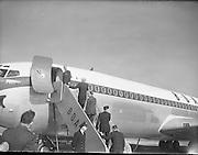 The Duke of Edinburgh at Shannon Airport..14.03.1961