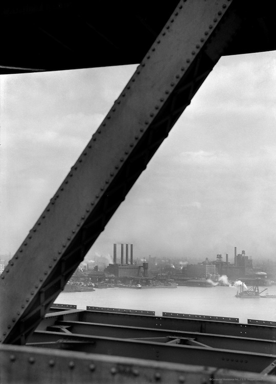 View from the Delaware Bridge, 1926