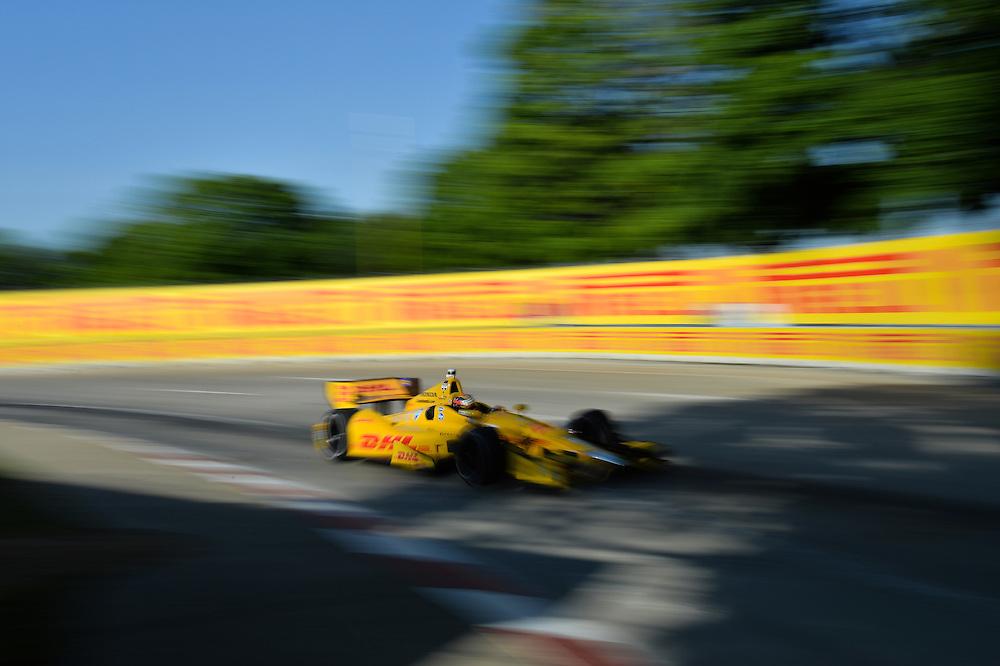 Ryan Hunter-Reay, The Raceway at Belle Isle Park, Detroit, MI USA 6/1/2014