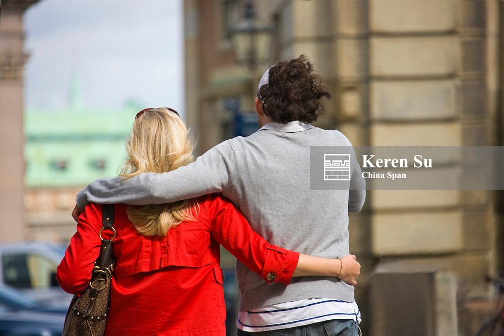 People on the street, Stockholm, Sweden