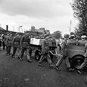 1961 - Trooper Ed Gaffney's Funeral.   B950.